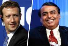 Facebook Buys 9.99% Stake in Reliance Jio for Rs 43,574 Crore