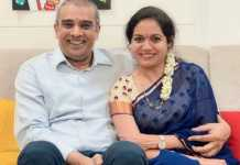 Nithiin hosted a party for Singer Sunitha second marriage
