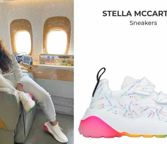 Keerthy Suresh wearing a Stella McCartney shoe