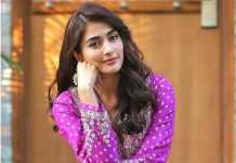 Pooja Hegde sizzles in Anita Dongre suit