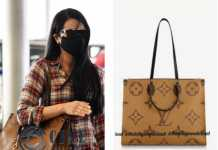 Trisha Krishnan Louis Vuitton handbag