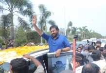 Chiranjeevi At Rajahmundry For Acharya Movie Shooting