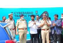 NTR at Cyberabad Traffic Police Annual Conference
