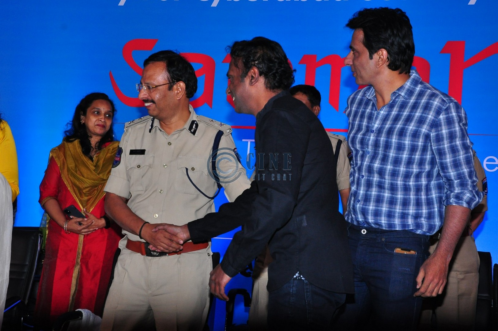 Sonu Sood At Cyberabad Traffic Police first Annual Conference Event