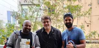 Thala Ajith completed 10,000kms ride and spotted in Hyderabad