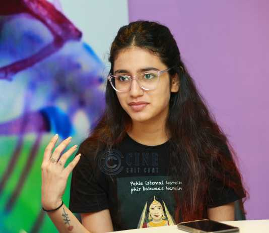 priya prakash varrier check movie interview photos