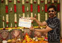 Ravi Teja Divyansha Kaushik new movie opening